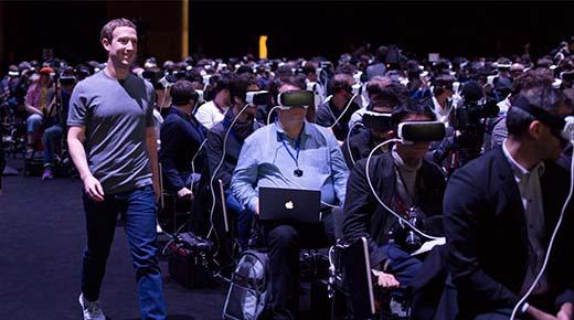 Perturbadora imagen de Mark Zuckerberg dice mucho acerca de nuestro futuro:
